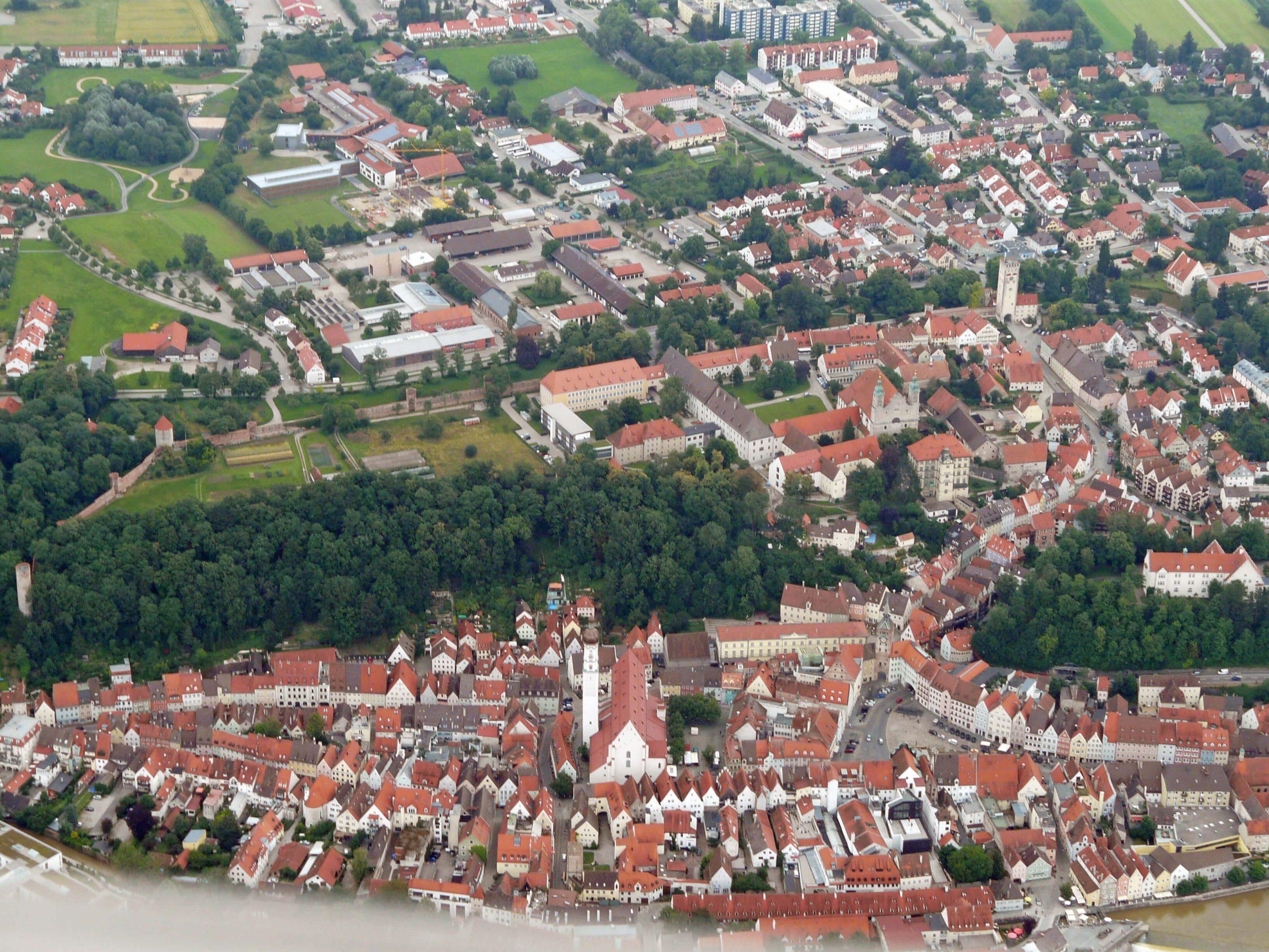 Landsberg am Lech aus der Luft